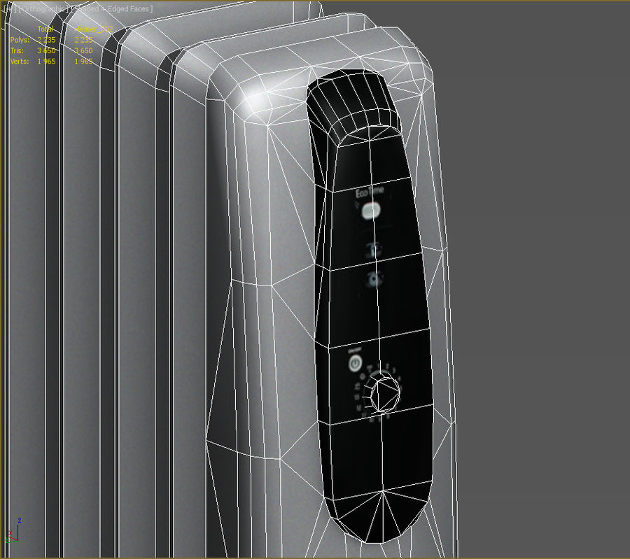 Heater royalty-free 3d model - Preview no. 10