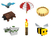 Minecraft Dig build life pack models and rigs 3d model