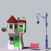 Karagoz 'Zuhause 3d model