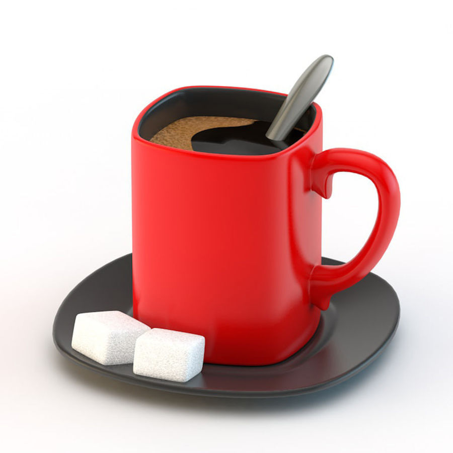 Coffee Cup royalty-free 3d model - Preview no. 1