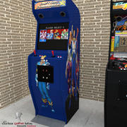 Arcade Machine Captain Commando 3d model