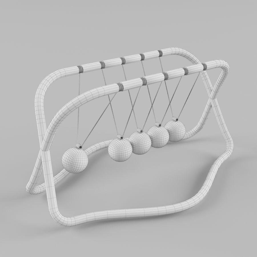 牛顿的摇篮 royalty-free 3d model - Preview no. 7
