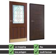 Building Doors 3d model