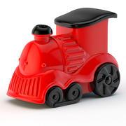 기관차 장난감 3d model