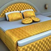 Deluxe Bed 3d model