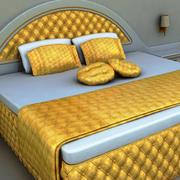 Deluxe-säng 3d model