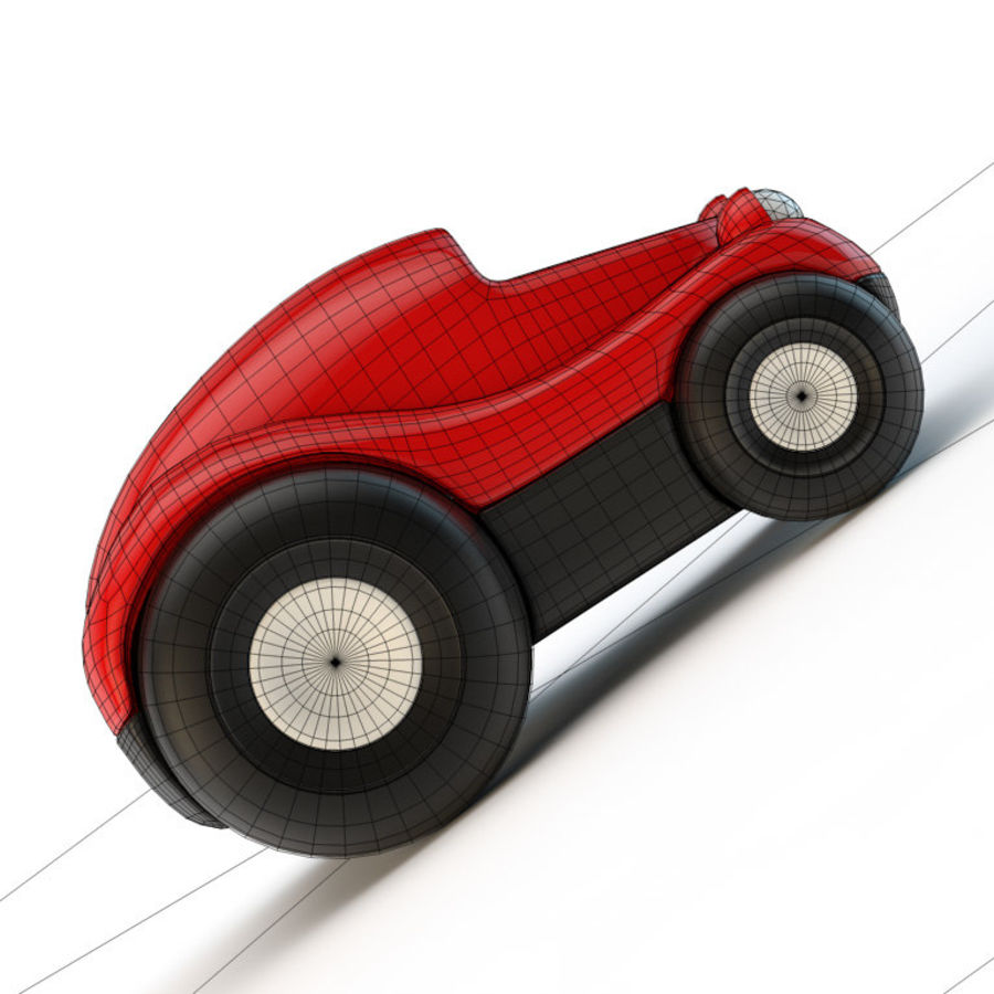 Car_toy royalty-free 3d model - Preview no. 5