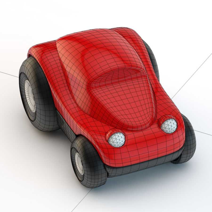 Car_toy royalty-free 3d model - Preview no. 3
