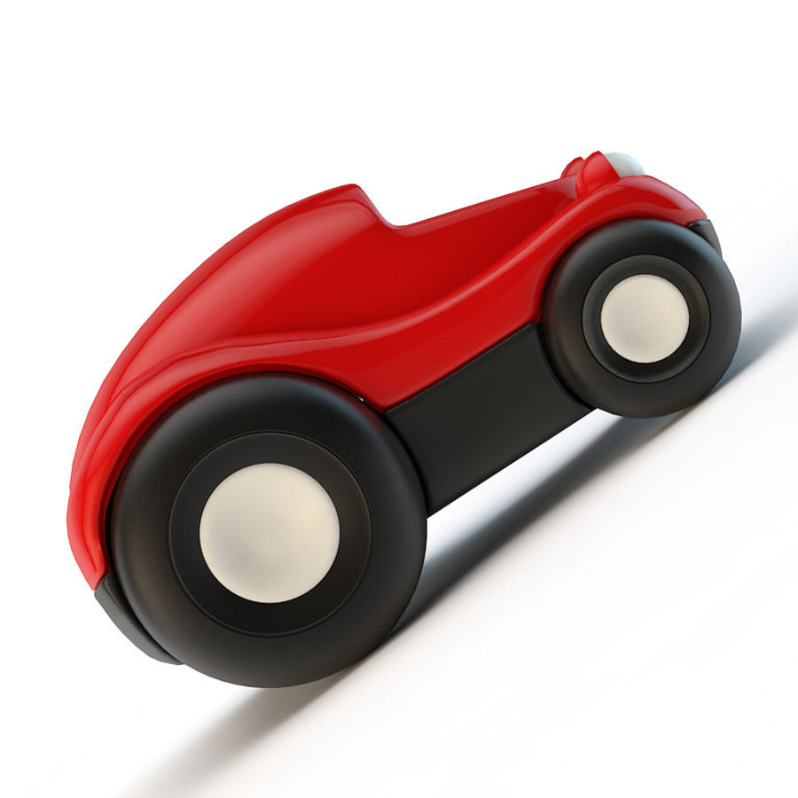 Car_toy royalty-free 3d model - Preview no. 4