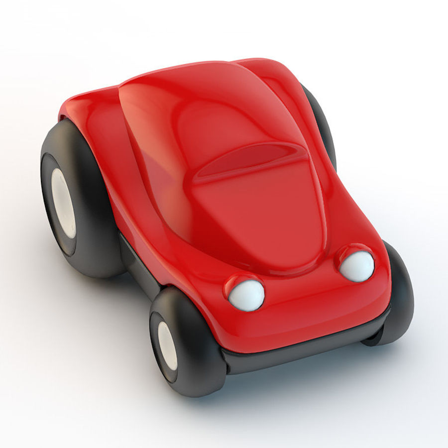 Car_toy royalty-free 3d model - Preview no. 2