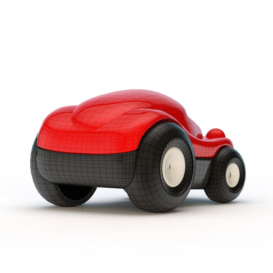 Car_toy royalty-free 3d model - Preview no. 6