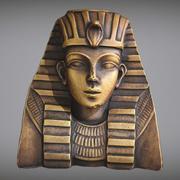 Tutankhamun PBR V-Ray Game Ready 3d model
