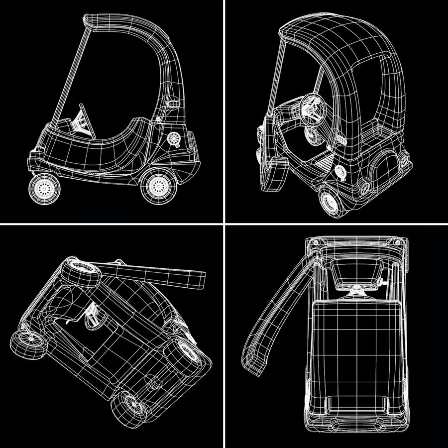 Уютный Купе royalty-free 3d model - Preview no. 7