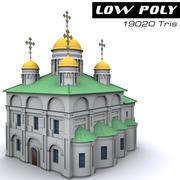 大聖堂 3d model