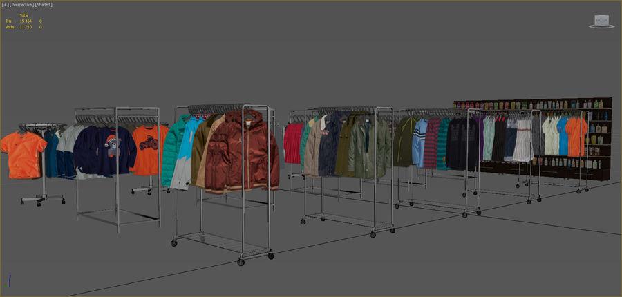Kläder royalty-free 3d model - Preview no. 2
