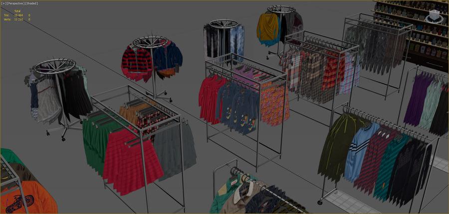 Kläder royalty-free 3d model - Preview no. 5