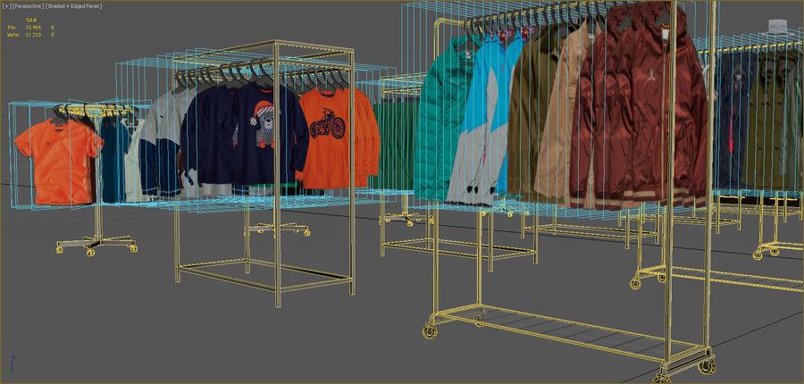 Kläder royalty-free 3d model - Preview no. 4