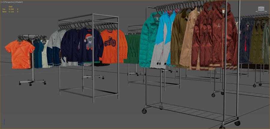 Kläder royalty-free 3d model - Preview no. 3