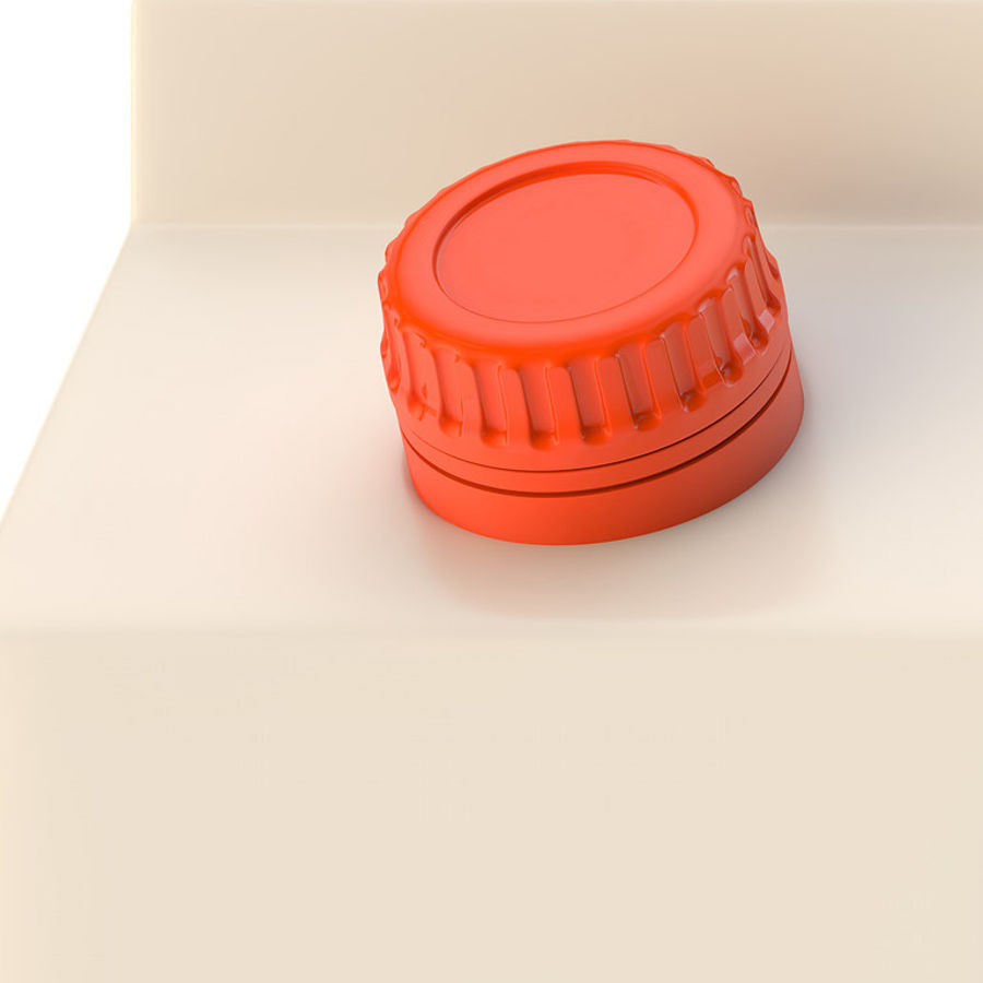 beverage box royalty-free 3d model - Preview no. 7