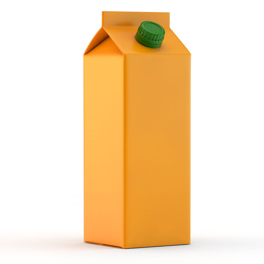 beverage box royalty-free 3d model - Preview no. 1