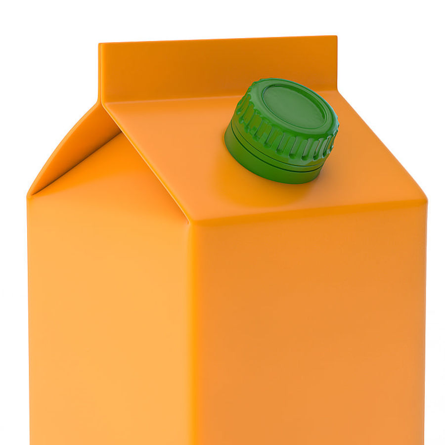 beverage box royalty-free 3d model - Preview no. 2