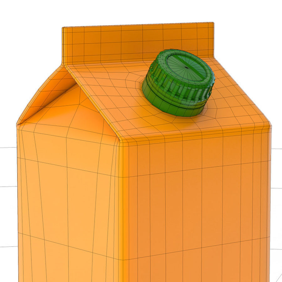 beverage box royalty-free 3d model - Preview no. 3