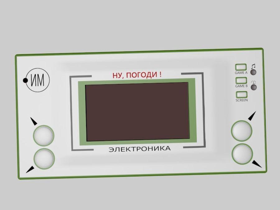 Ryska elektroniska spel royalty-free 3d model - Preview no. 4