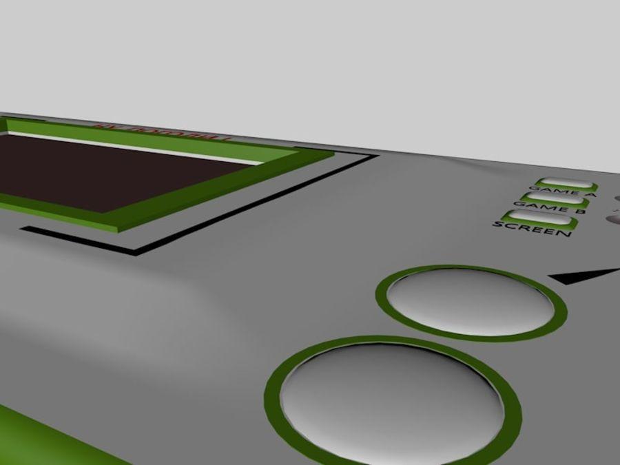 Ryska elektroniska spel royalty-free 3d model - Preview no. 5