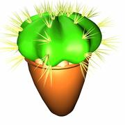 kaktus 3d model