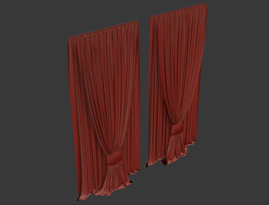 Blinds royalty-free 3d model - Preview no. 6