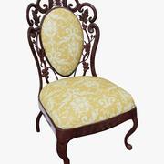 维多利亚时代的餐椅 3d model