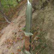 ミリタリーナイフ 3d model