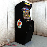 Arcade Machine Final Fight 3d model