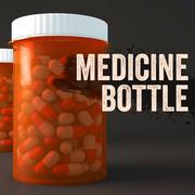 Butelka lekarstwa 3d model
