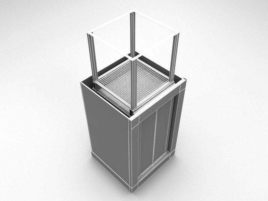 asansör royalty-free 3d model - Preview no. 6