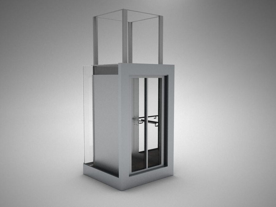 elevator royalty-free 3d model - Preview no. 1