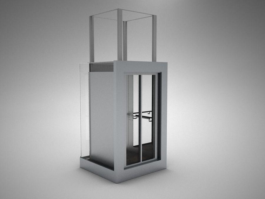 asansör royalty-free 3d model - Preview no. 1