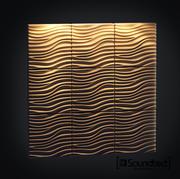 Acoustic wall 3d model