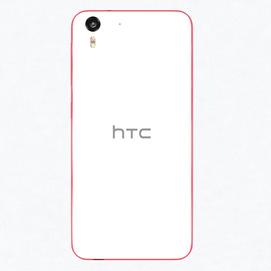 HTC Desire 2 royalty-free 3d model - Preview no. 4