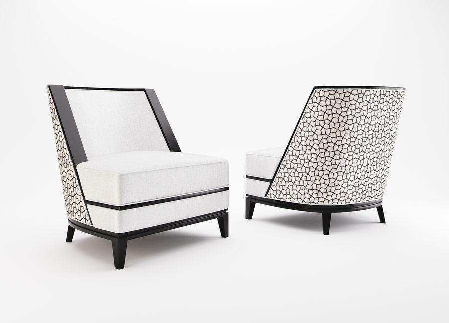 Sloane ara sıra sandalye royalty-free 3d model - Preview no. 1