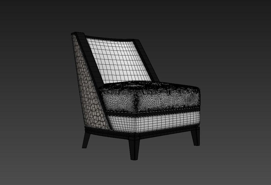 Sloane ara sıra sandalye royalty-free 3d model - Preview no. 2