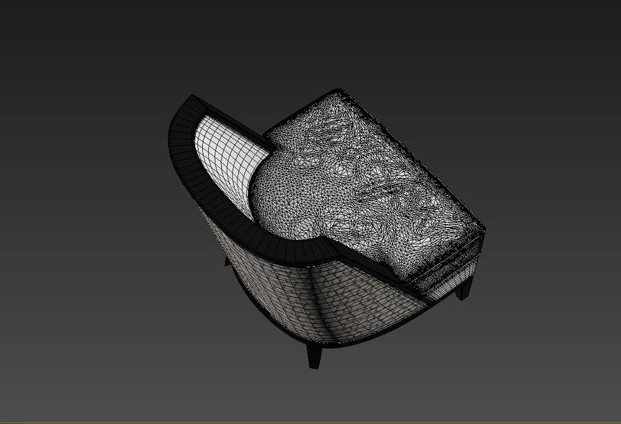 Sloane ara sıra sandalye royalty-free 3d model - Preview no. 5