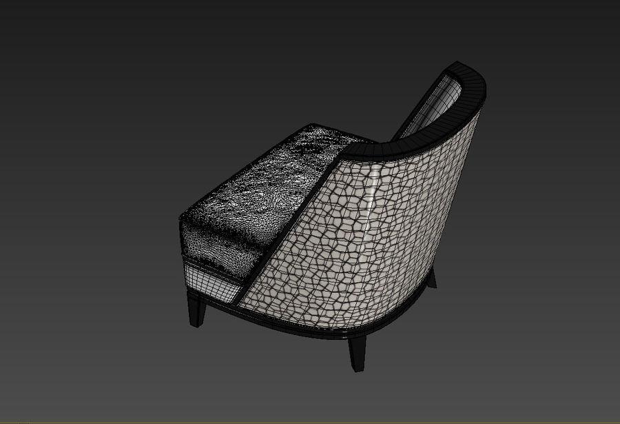 Sloane ara sıra sandalye royalty-free 3d model - Preview no. 4