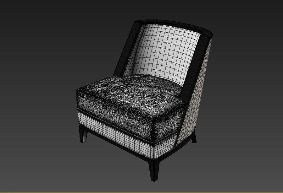 Sloane ara sıra sandalye royalty-free 3d model - Preview no. 3