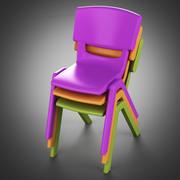 Postura +椅子 3d model