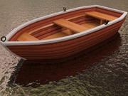 Barco a remo 3d model