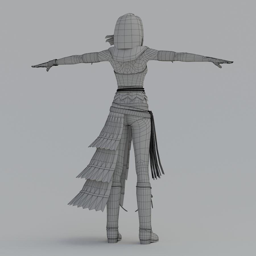 yuna_V2 royalty-free 3d model - Preview no. 19