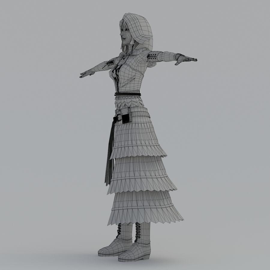 yuna_V2 royalty-free 3d model - Preview no. 16