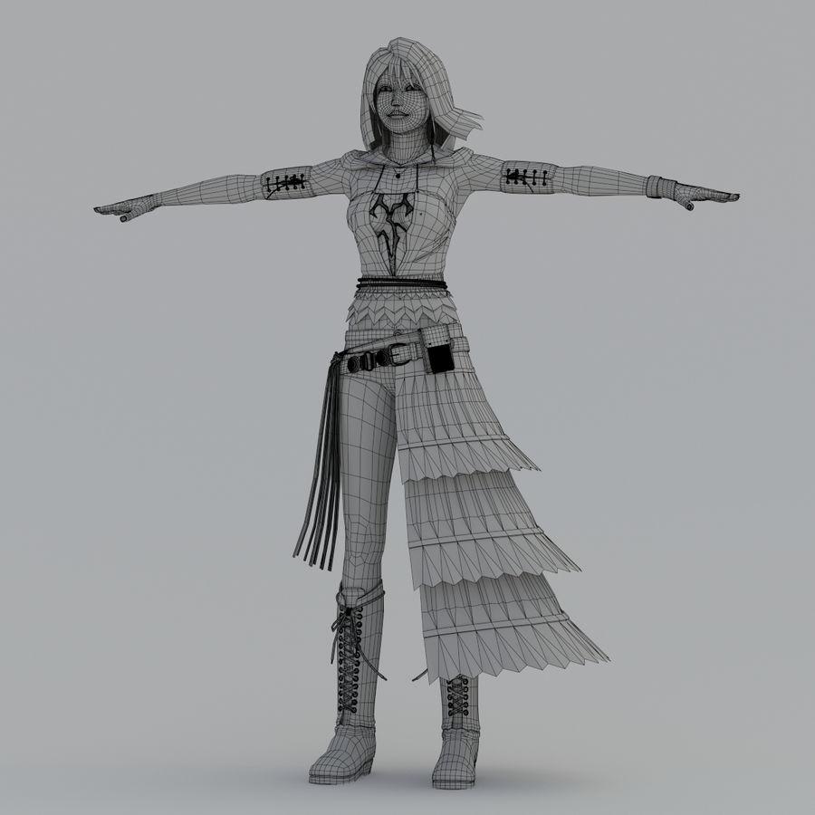 yuna_V2 royalty-free modelo 3d - Preview no. 16