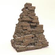 Pirámides antiguas modelo 3d